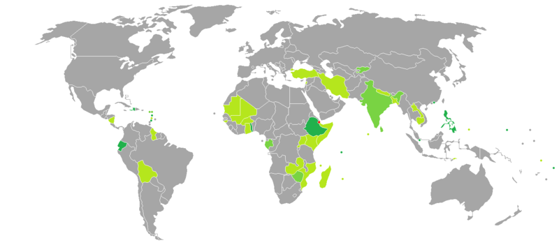 Visa requirements for Djibouti citizens.PNG