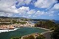 Vista parcia da cidade da Horta 2 apartir do Monte da Guia, Concelho da Horta, ilha do Faial, Açores, Portugal.JPG