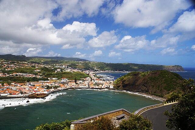 Monte Da Guia, Horta, on the Azorean island of Faial.
