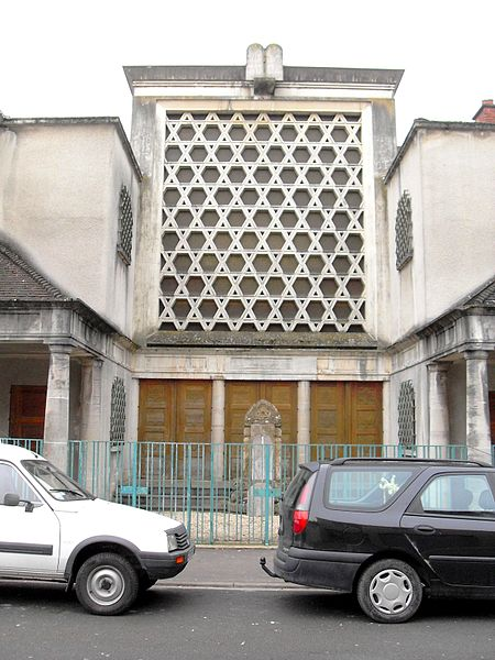 Ancienne synagogue de Vitry-le-François Marne 51 (en activité jusqu'en 2007)