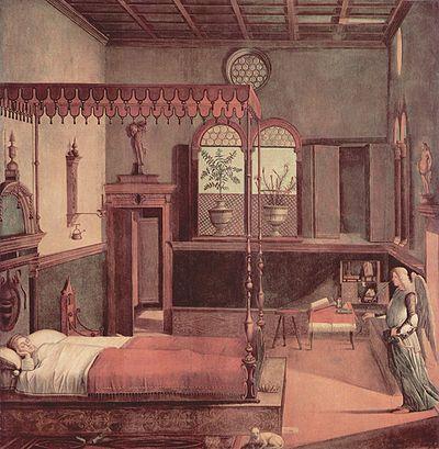 The Dream of St Ursula (1495) Tempera on canvas, 274 x 267 cm Gallerie dell'Accademia, Venice