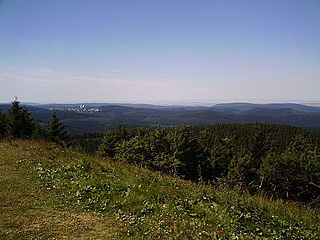 Thuringian Forest mountain range in the German state of Thuringia