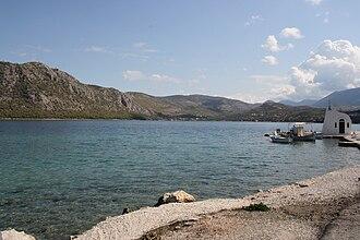 Loutraki - The Vouliagmeni lake
