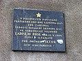 Vršovice, Minská 1, pamětní deska.jpg