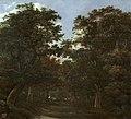Vroom-bosque con jinetes-prado.jpg