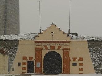Leopoldov Prison - Image: Vstup do leopldovskej vaznice