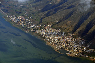 Usta Murad - Aerial view of Ghar el-Melh and its port, founded by Usta Murad in 1638
