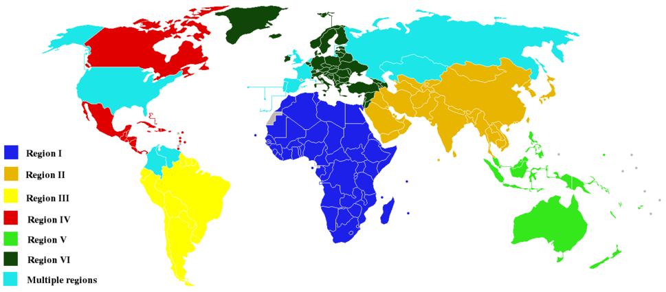 WMO Regions