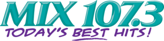 WRQX - Former logo used between August 31, 1990, and August 28, 2013