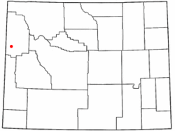 Location of Teton Village, Wyoming