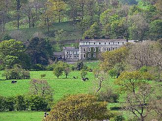 Waddow Hall - Waddow hall overlooks the River Ribble.