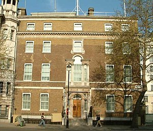 Welsh Office - Gwydyr House, Whitehall, London