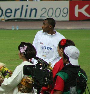 Walter Davis (triple jumper) - Image: Walter Davis Osaka 07 D3A Triple Jump VC