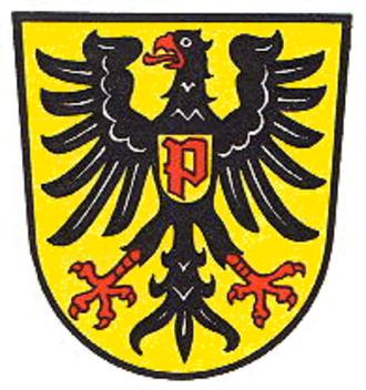 Pfeddersheim - Image: Wappen Pfeddersheim