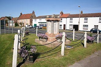 Patrington Rural District - War memorial at Patrington village