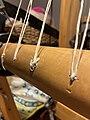 Warp beam apron string replacement (51037315406).jpg