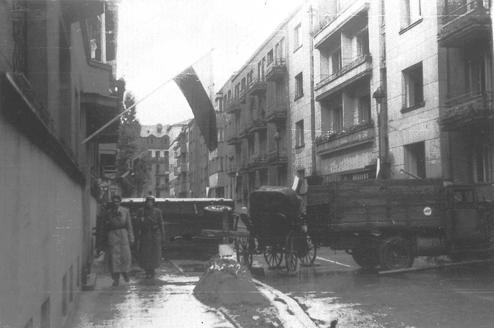 Warsaw Uprising by Szober - Ulica Smulikowskiego