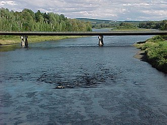 Aroostook River - Aroostook River at Washburn, Maine