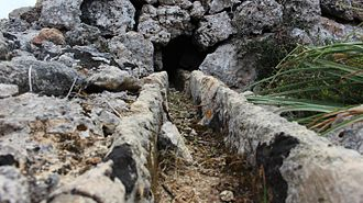 Mistra Rocks - Water canals were an effective way of transporting water