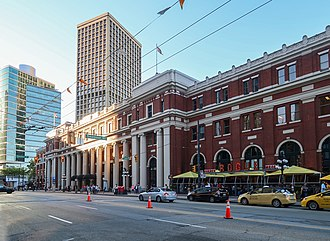 Downtown Vancouver - Waterfront station is a major intermodal public transportation hub in Downtown Vancouver.