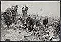 Watersnood 1953 De dijk bij Ouwerkerk op Duiveland is nog lang niet geheel klaar, Bestanddeelnr 059-1132.jpg