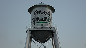 Grand Prairie, Texas - Watertower at Market Square