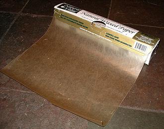 Wax paper - Wax paper