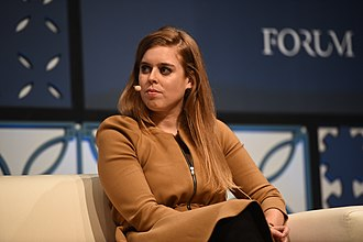 Princess Beatrice of York - Beatrice at the Web Summit 2018 Forum, November 2018