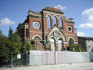 Toxteth - Wellington Road Chapel, in Toxteth, was closed in 1932 and has been left vacant ever since.