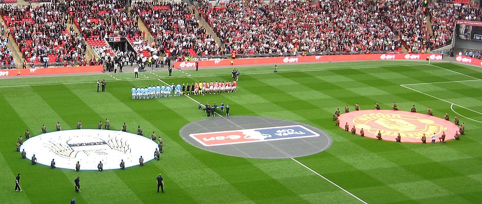 Wembley Manchester derby pre-kick-off (edited)