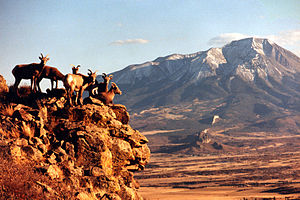 West Spanish Peak - Image: West spanish peak 01
