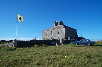 Manse - The West Manse, Sanday, Orkney, Scotland (formerly the Free Kirk manse)