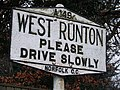 West Runton sign - geograph.org.uk - 1094741.jpg