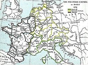 History of Saxony - 870 Saxony.