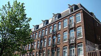 Amsterdam-West - Revolutiebouw architecture, Staatsliedenbuurt.