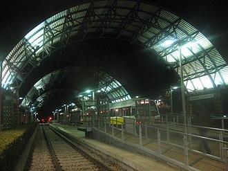 Westmoreland station (DART) - Image: Westmoreland DART Station