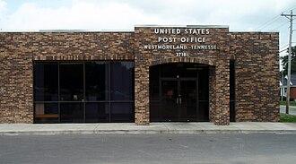 Westmoreland, Tennessee - Image: Westmoreland tennessee postoffice 2009