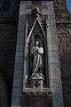 Wexford Church of the Assumption West Portal Statue of Saint Michael 2010 09 29.jpg