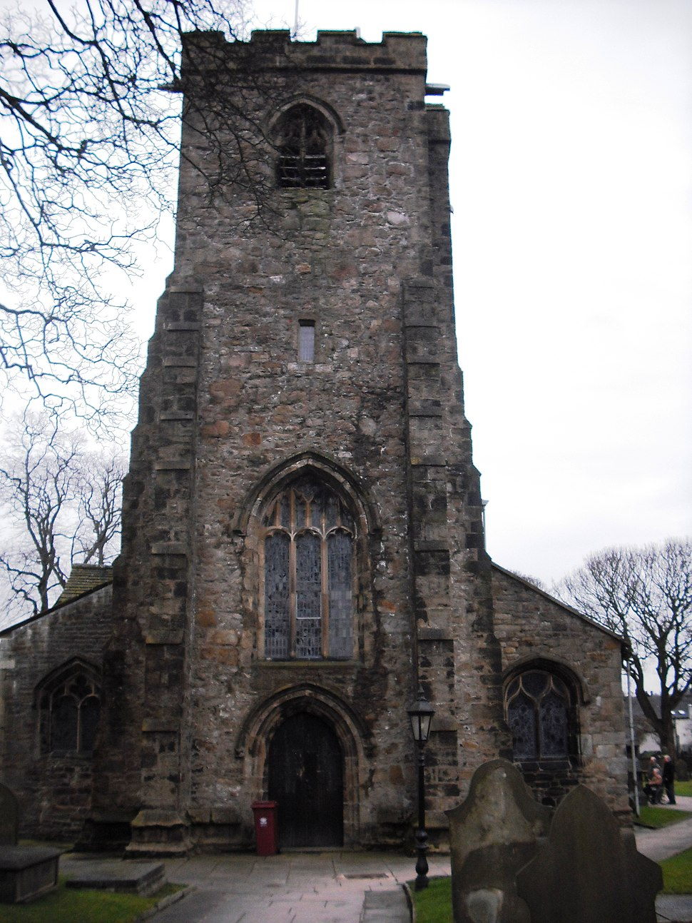 Whalley Church tower