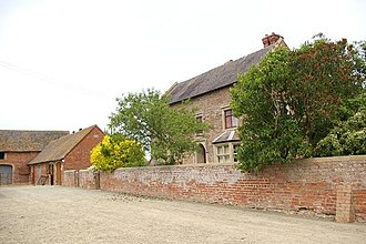 Listed buildings in Alberbury with Cardeston - Image: White Abbey farm, Alberbury geograph.org.uk 463773