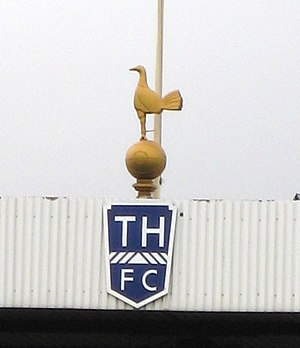 White Hart Lane - The cockerel