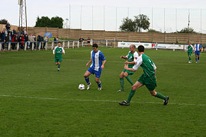 Nantwich Town F.C. - Nantwich Town play Whitley Bay in 2008