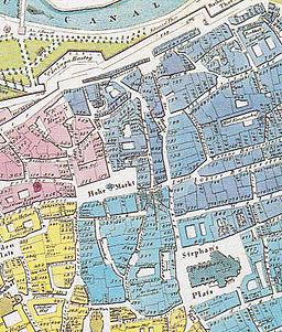 Wien, Hoher Markt um 1830