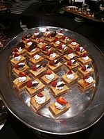 Wikimania 2015-Thursday-Food for hungry Hackathon people (11).jpg