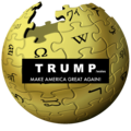 Wikipedia logo Trump.png