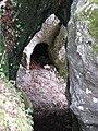 Wildensteiner Burg Hexenturm 05b, Donautal.JPG