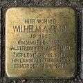 Wilhelm Ahrnke - Sierichstraße 172 (Hamburg-Winterhude).Stolperstein.nnw.jpg