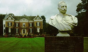 Bust of Wilhelm II at Doorn