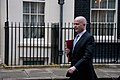 William Hague briefs 10 Downing Street after Israeli Prime Minister is summond to Foreign Office (12886148535).jpg