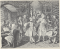 William Hogarth - A Rake's Progress, Plate 2 (Unfinished).png
